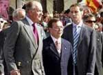 El ministro cree que había que normalizar la presencia de los Reyes en Ceuta