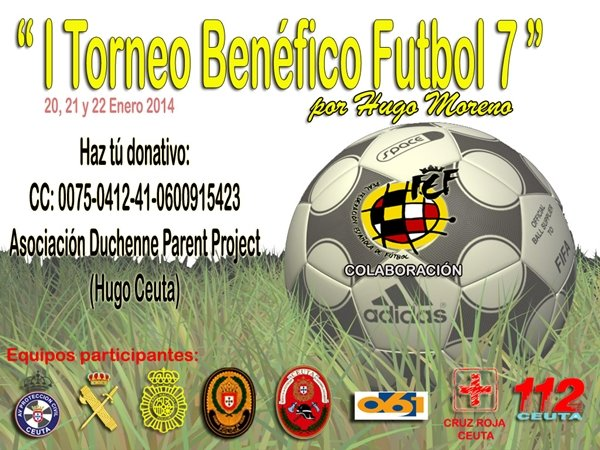 94e0da0fa6b De lunes a miércoles, Torneo Benéfico de Fútbol 7 por Hugo Moreno en ...