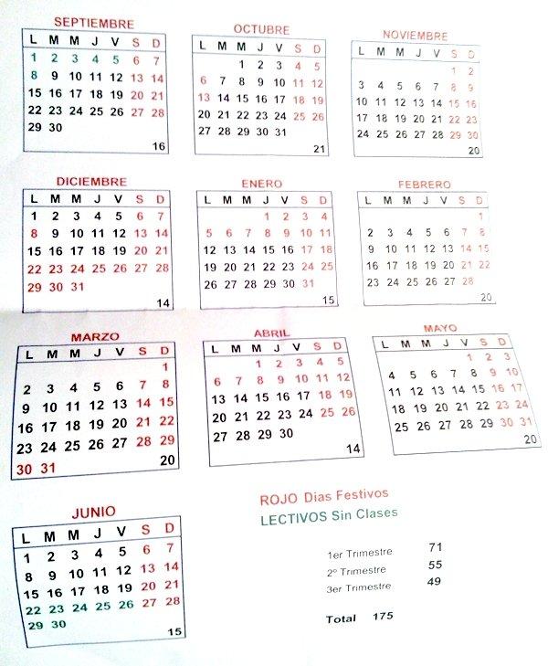 Calendario De Semanas.Tres Semanas De Paron En Navidad Novedad Del Calendario Escolar
