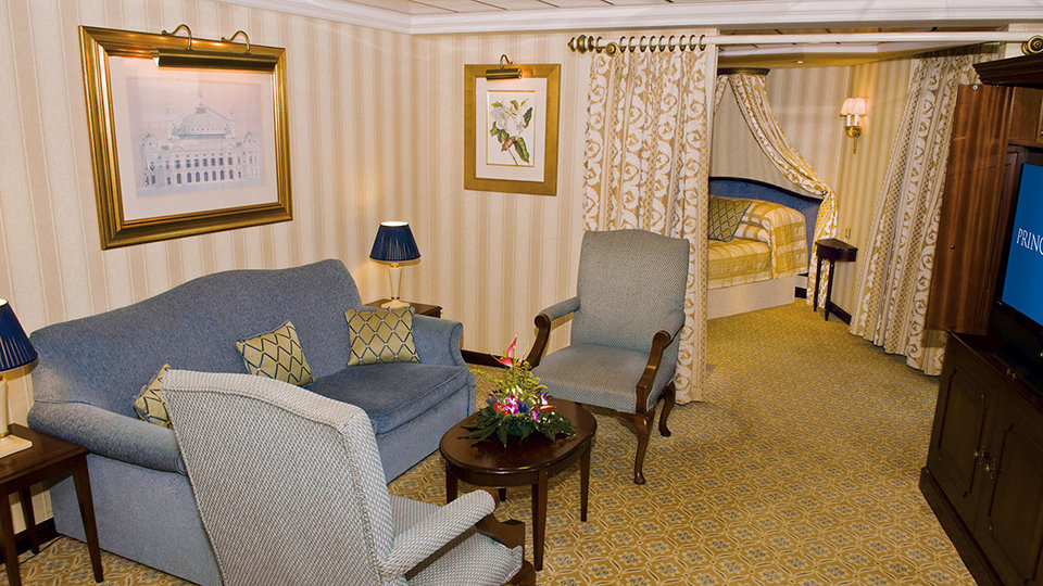 Suite del Pacific Princess