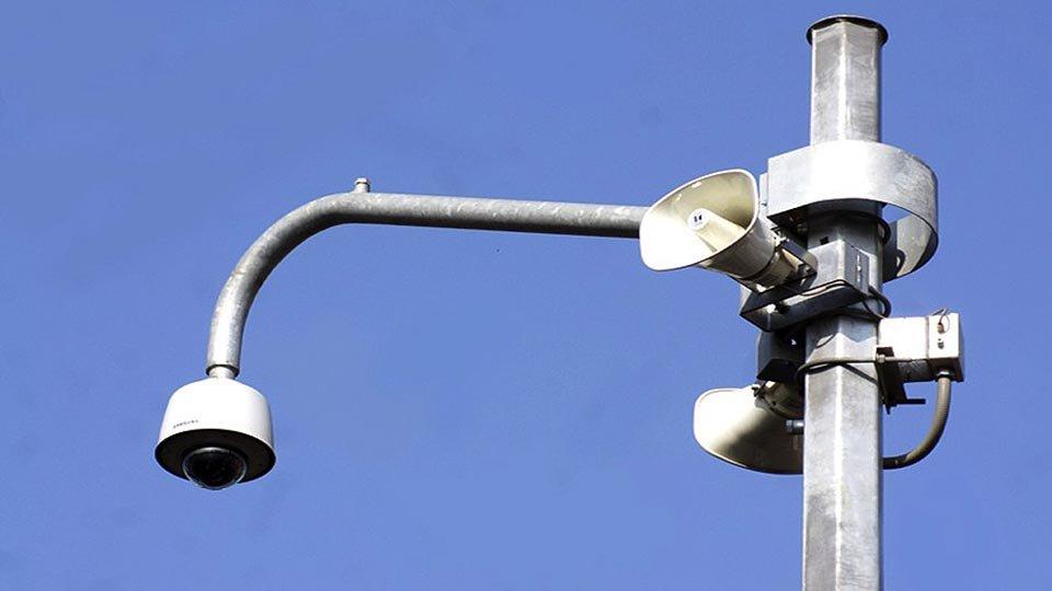 La ciudad cambia el cable de fibra ptica por un sistema for Camara vigilancia autonoma