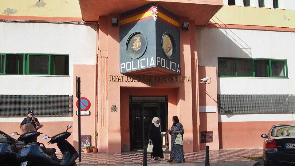 Jefatura Superior de Policía, imagen de archivo.