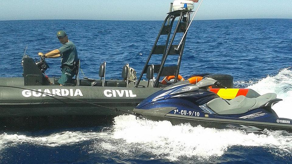 Resultado de imagen para motos de agua migrantes ceuta marruecos