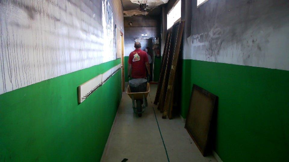 La Ciudad retirará el amianto del CEIP Ortega y Gasset en verano si ...