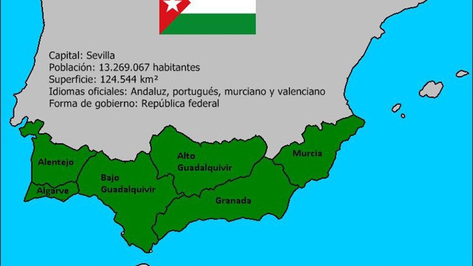 Mapa Marruecos Ceuta Y Melilla.Nacionalistas Andaluces Piden Un Referendum En Ceuta Y