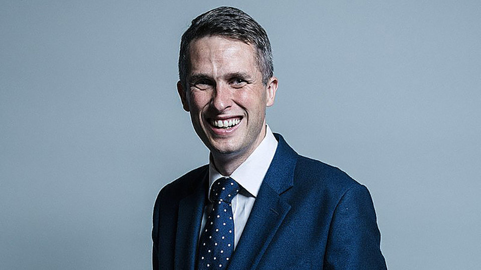 Gavin Williamson - UK Parliament official portraits 2017