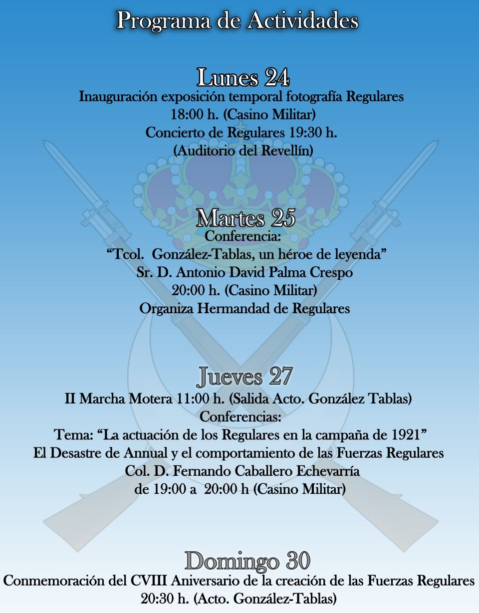 cartel regulares 2