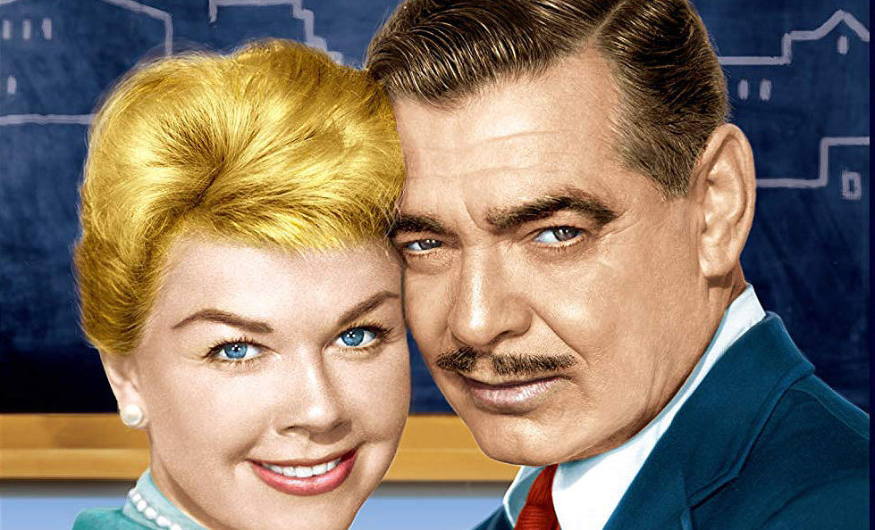 Doris Day y Clark Gable