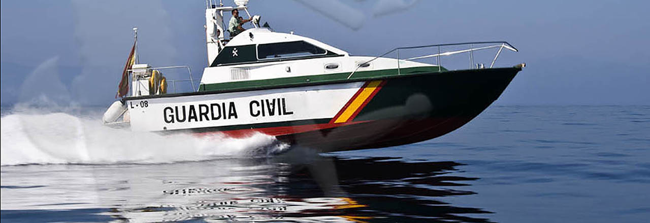 Servicio Marítimo. Foto Guardia Civil